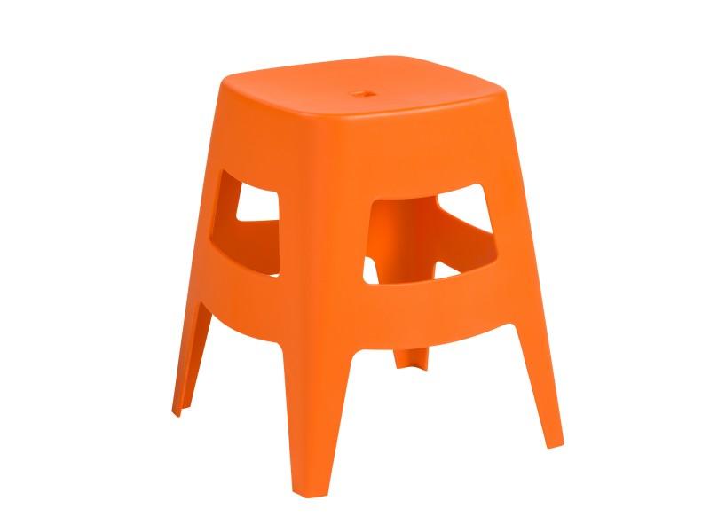 Taburete Coda Naranja