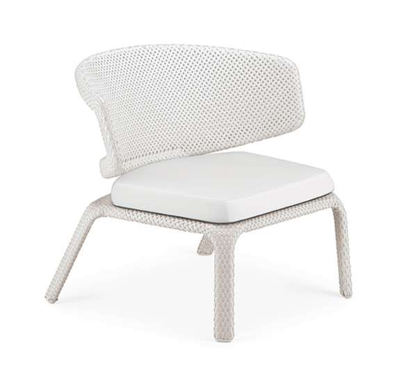 Silla Lounge Dedon Seashell