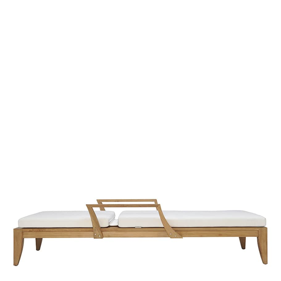 Camas Solares y Tumbonas JANUS et Cie Relais Chaise Lounge With Arms