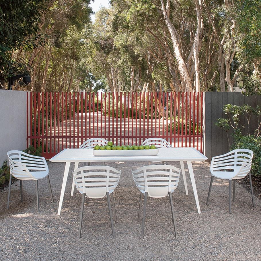 Mesa JANUS et Cie Wegner Dining Table Rectangle