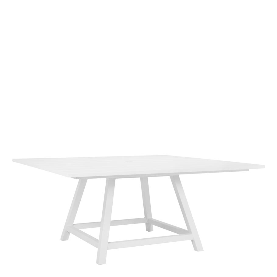 Mesas Comedor JANUS et Cie Dolce Vita Dining Table Square With Umbrella Hole