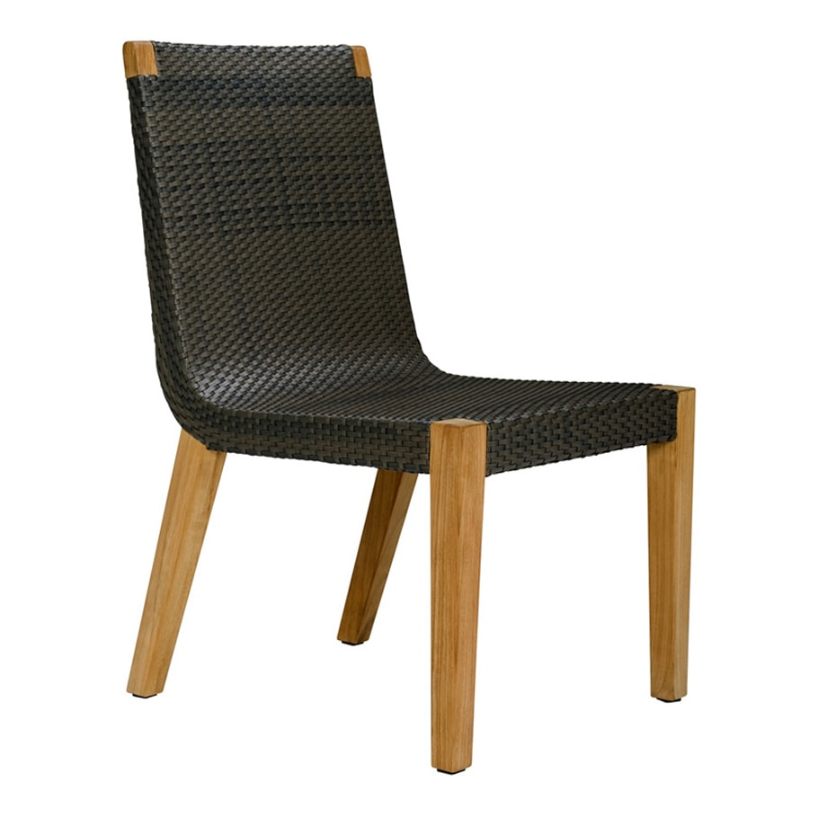 Silla JANUS et Cie Quinta Teak - Woven Side Chair