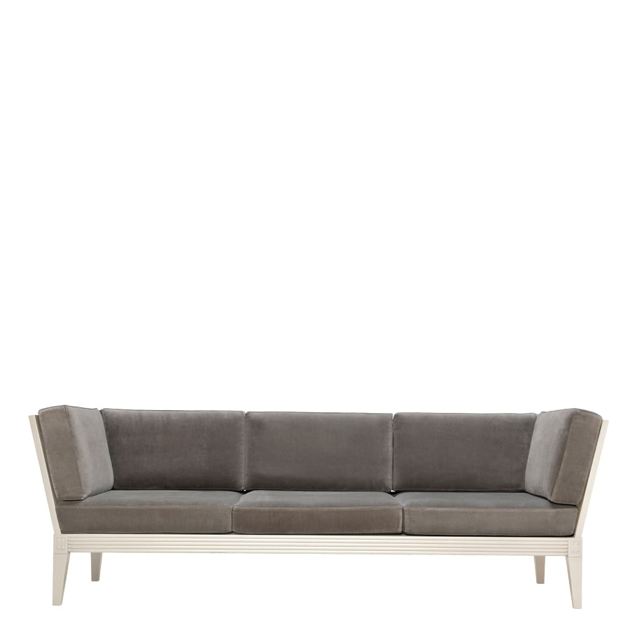 Sofás y Seccionales JANUS et Cie Quadratl Club Sofa 3 Seat