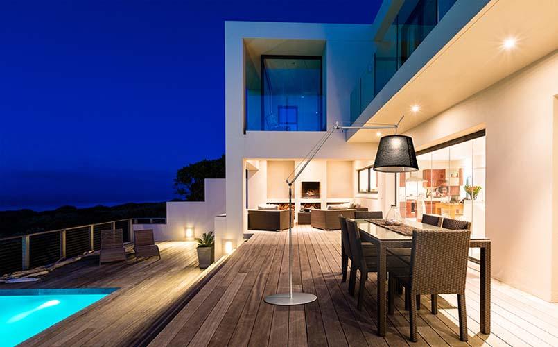 Iluminacion de terrazas exteriores good top consejos de iluminacin exterior de chalets cmo - Iluminacion terrazas exteriores ...