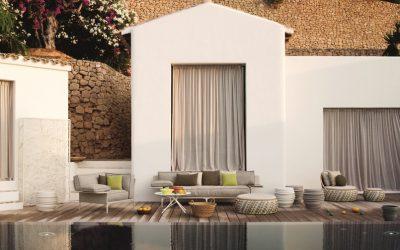 Momento ideal para crear una terraza de revista