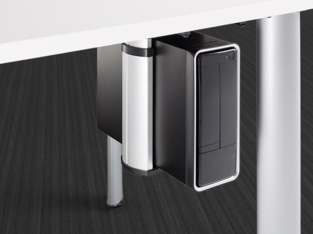 Soporte de Computadora Steelcase CPU Holder + Stands