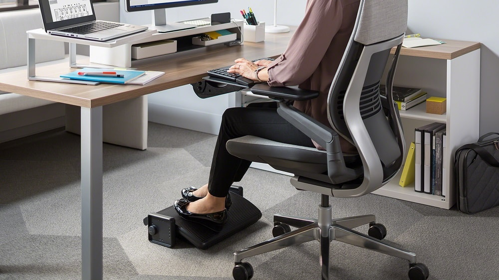 Reposapiés Steelcase Footrest