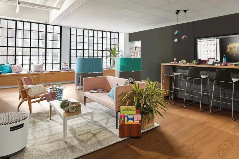 La importancia de espacios de trabajo creativos en la oficina